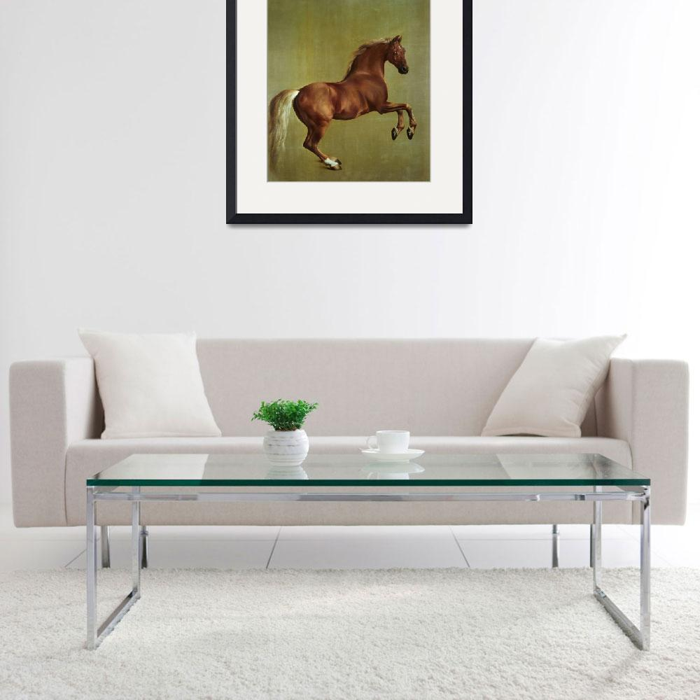 """""""Whistlejacket, 1762, by George Stubbs&quot  by fineartmasters"""