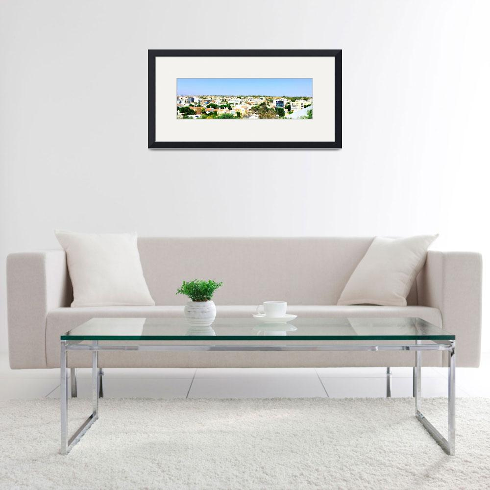 """Nicosia Skyline, Cyprus&quot  by Artsart"