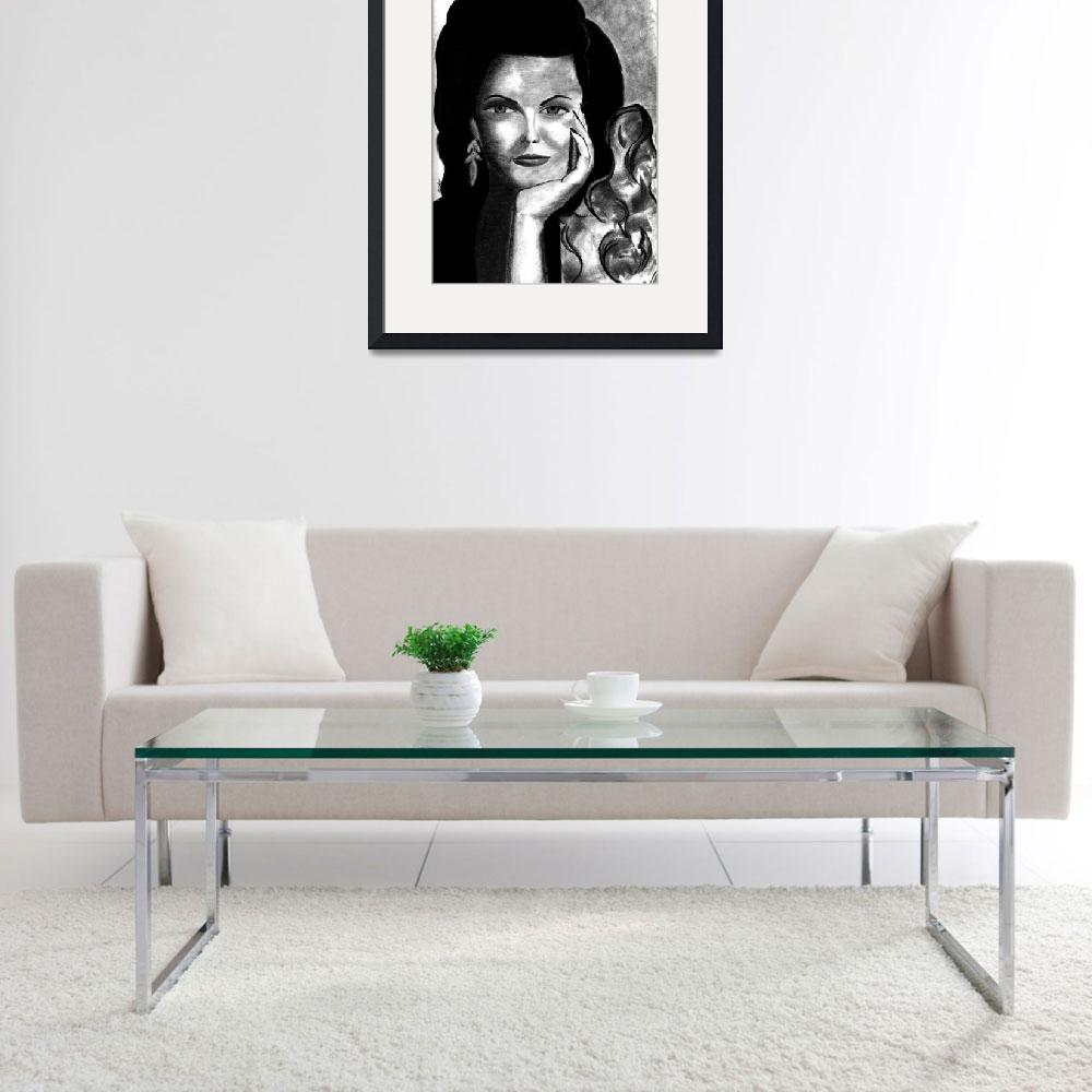 """""""Jane Russell&quot  (2012) by FallonStone"""