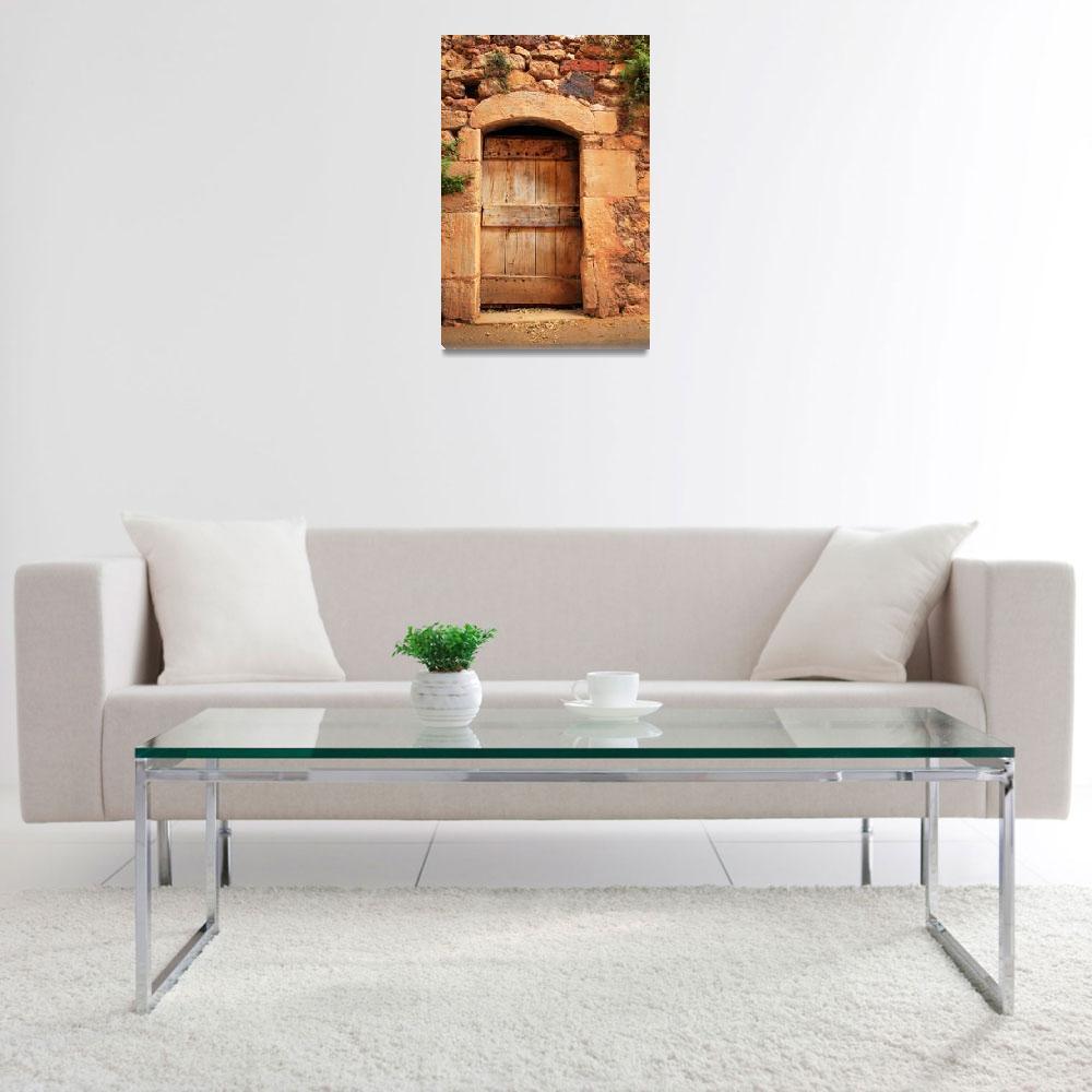 """Roussillon Door&quot  (2007) by Inge-Johnsson"