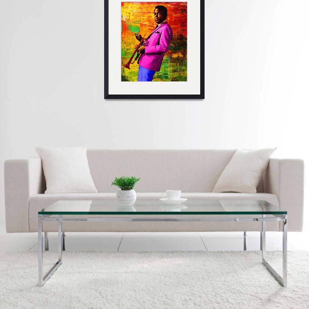 """""""MILES IN COLOR&quot  (2005) by Big88artworks"""