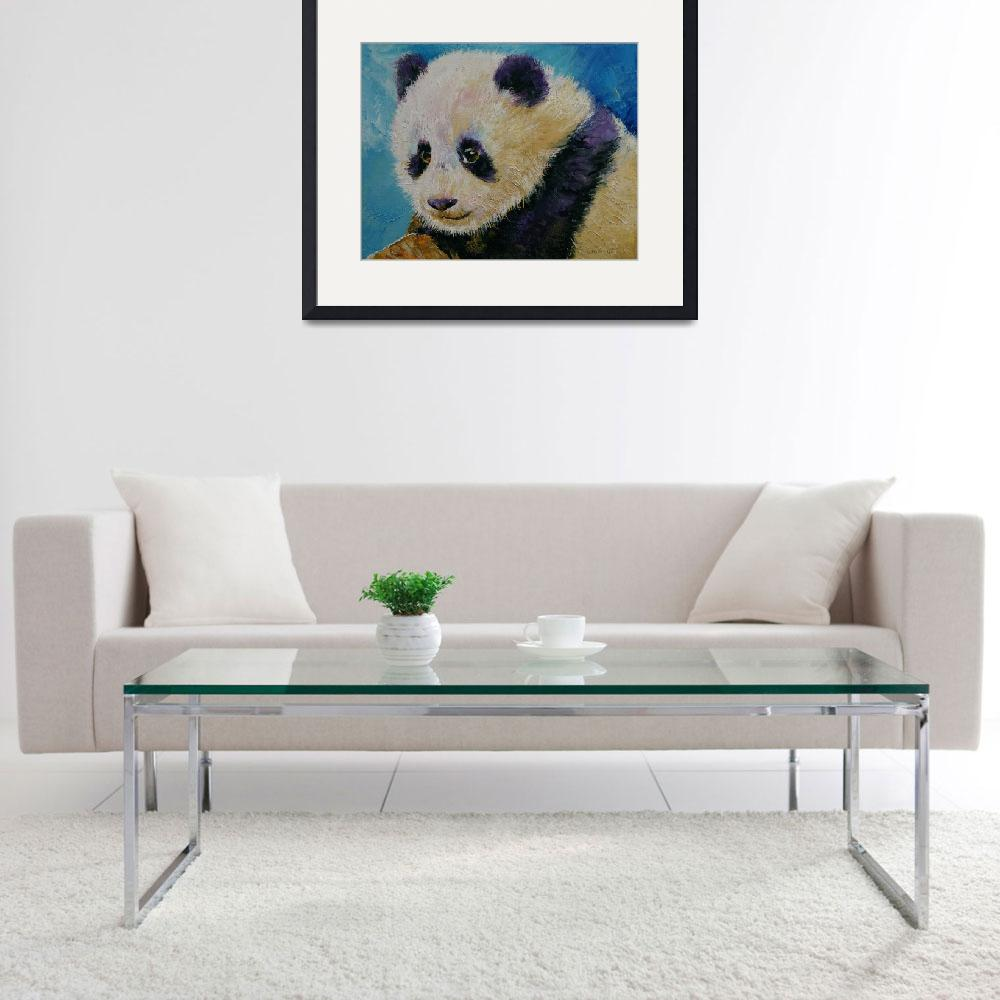 """Panda Cub&quot  by creese"