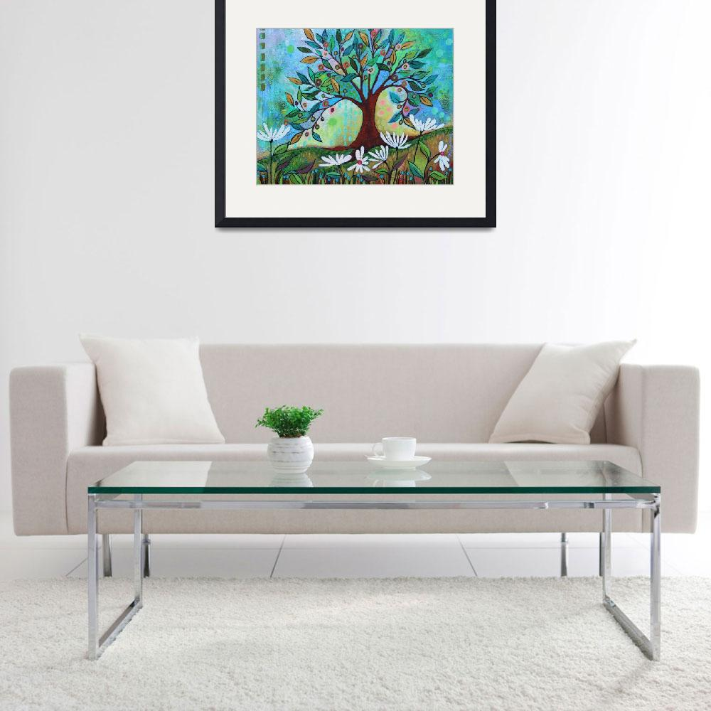 """""""Whimsical Tree&quot  (2016) by PeggySueDavis"""