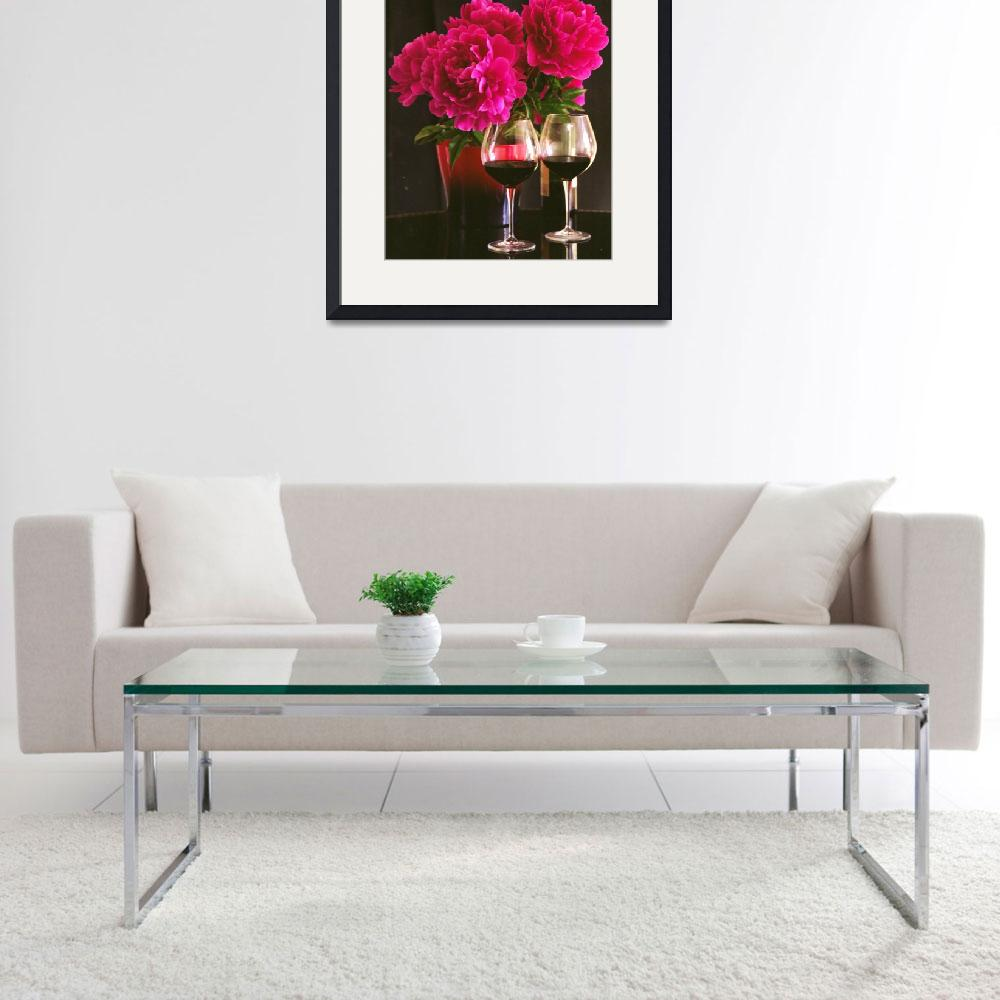 """""""Peonies and wine&quot  (2012) by gmart"""