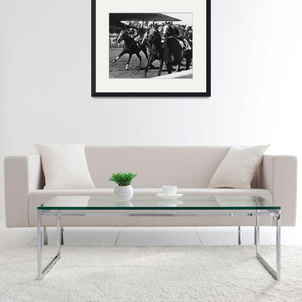 """""""Polo Boreal Horse Racing Vintage""""  by RetroImagesArchive"""