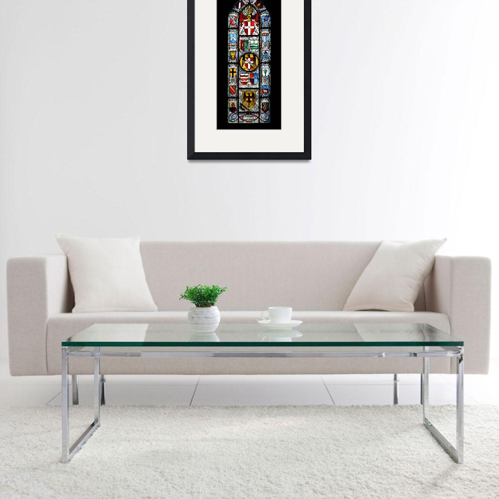 """""""Church stained glass""""  (2011) by MatteoCozzi"""