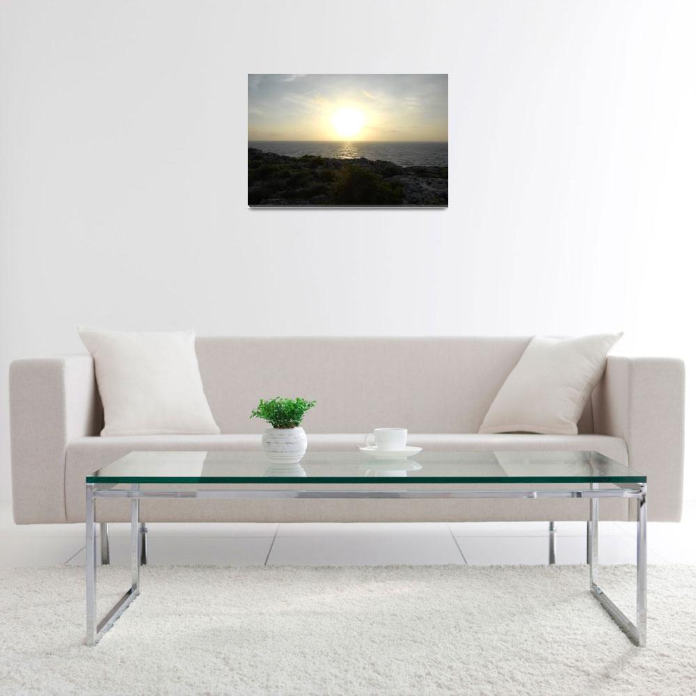"""Cayman Brac: Sunrise at the Bluff&quot  by RonScott"