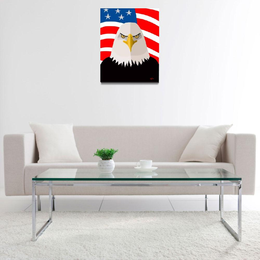 """""""USA Eagle&quot  (2013) by StudioFreriks"""