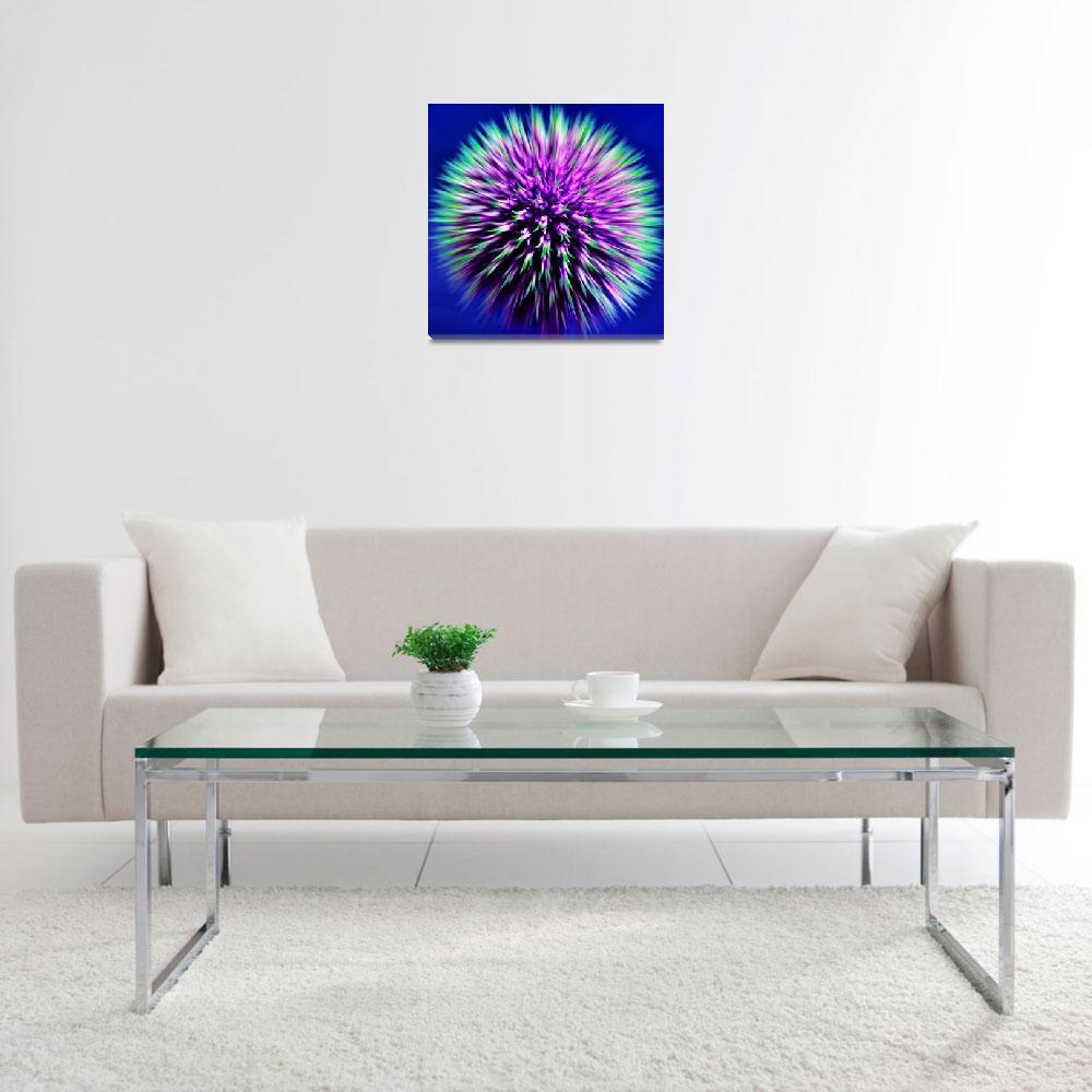 """""""Echinops&quot  (2008) by Reflections"""