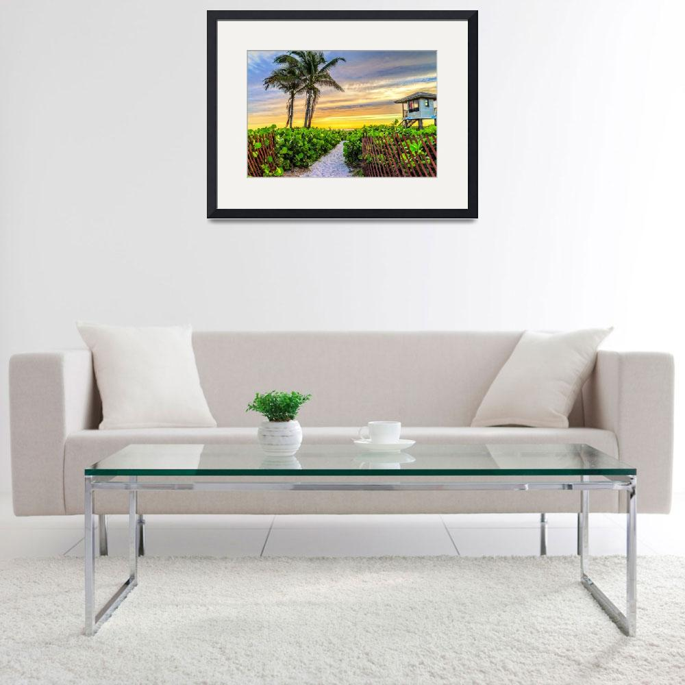 """""""South 5 at Delray Beach&quot  (2015) by LynnBauer"""