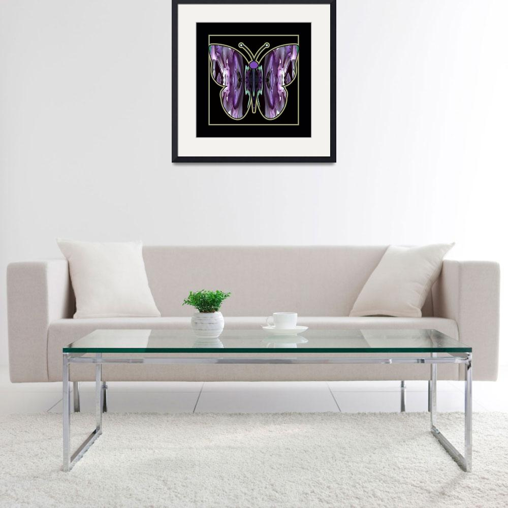 """""""Abstract-Butterfly-3&quot  (2014) by AppleCoreStudio"""