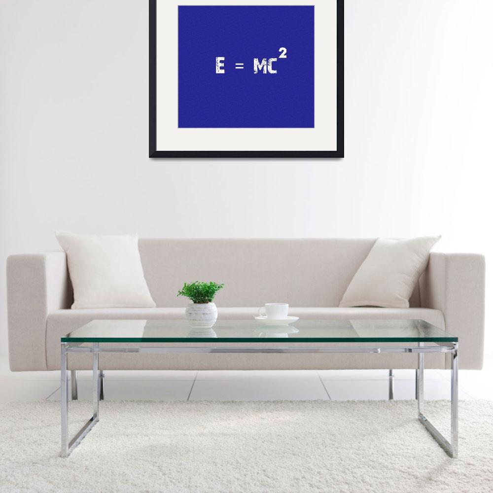 """""""Mass Energy Equivalence Poster 2&quot  by motionage"""