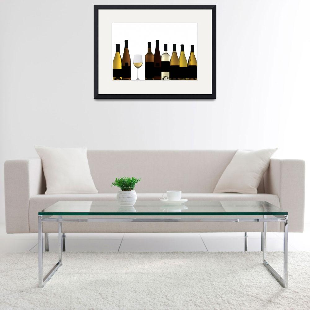 """""""White Wines&quot  by winecountrycreations"""