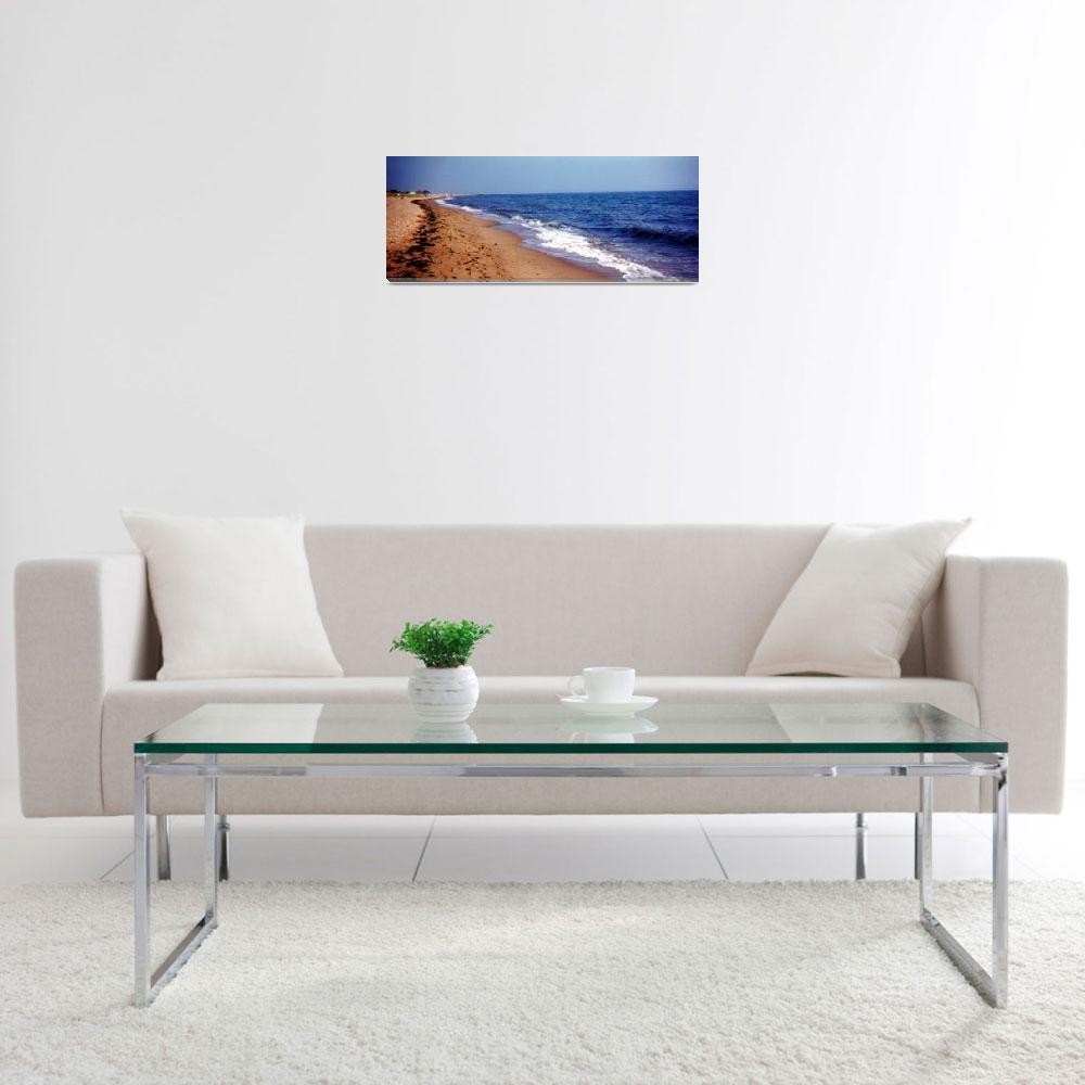 """Beautiful Ocean View Panoramic&quot  (2001) by MikeMBurkeDesigns"