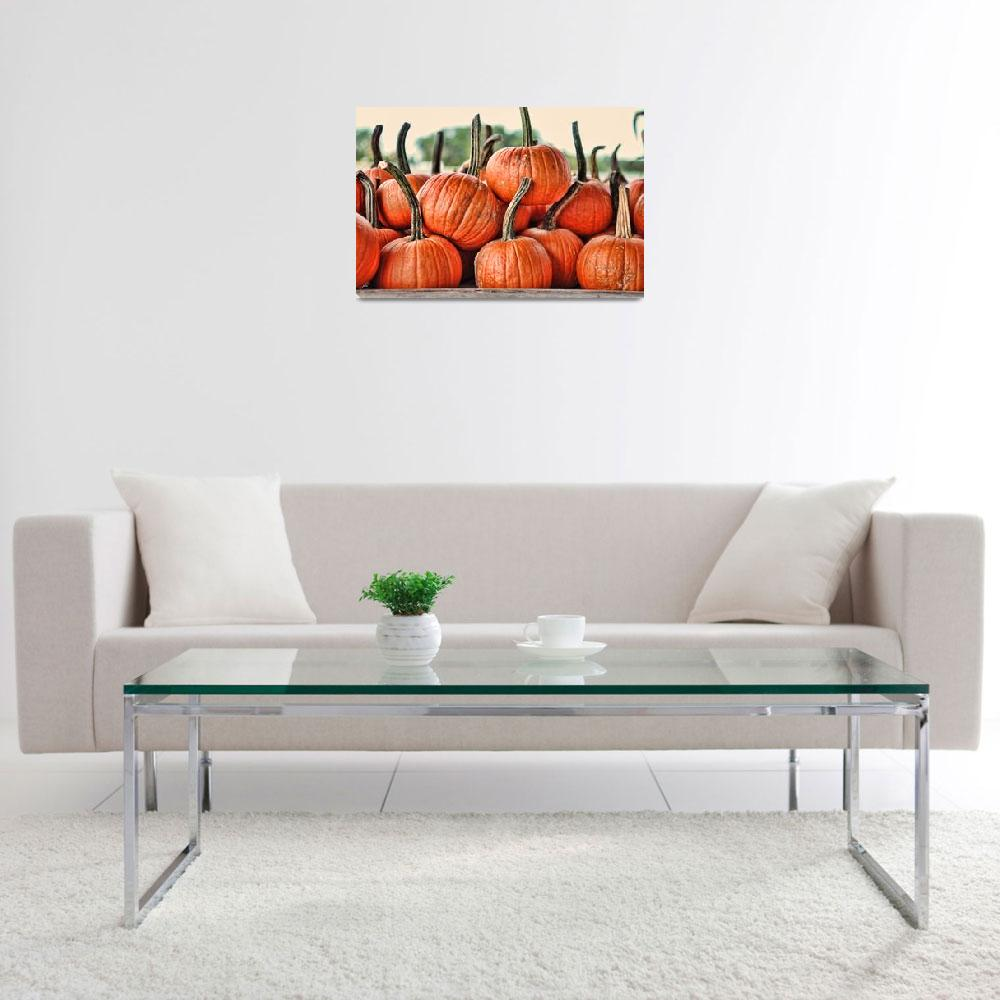 """""""Dirty Little Pumpkins&quot  by WrightFineArt"""