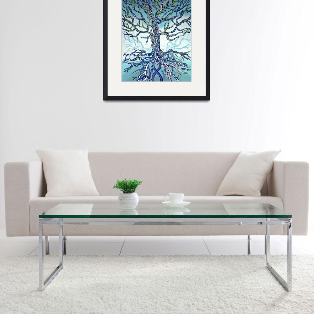 """""""Tree of Life&quot  (2007) by LOUISEDIONNE"""