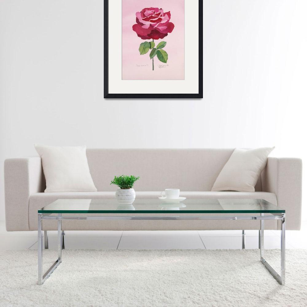 """""""Rose Essence III 2012""""  (2012) by WendySysouphat"""