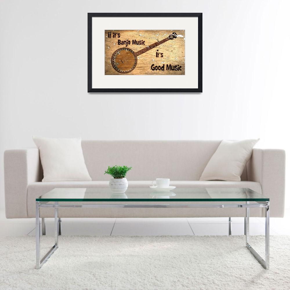 """""""Banjo Music&quot  (2014) by D_Young_Digital"""