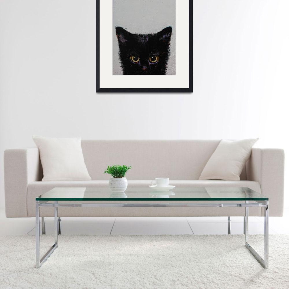 """""""Black Kitten&quot  by creese"""