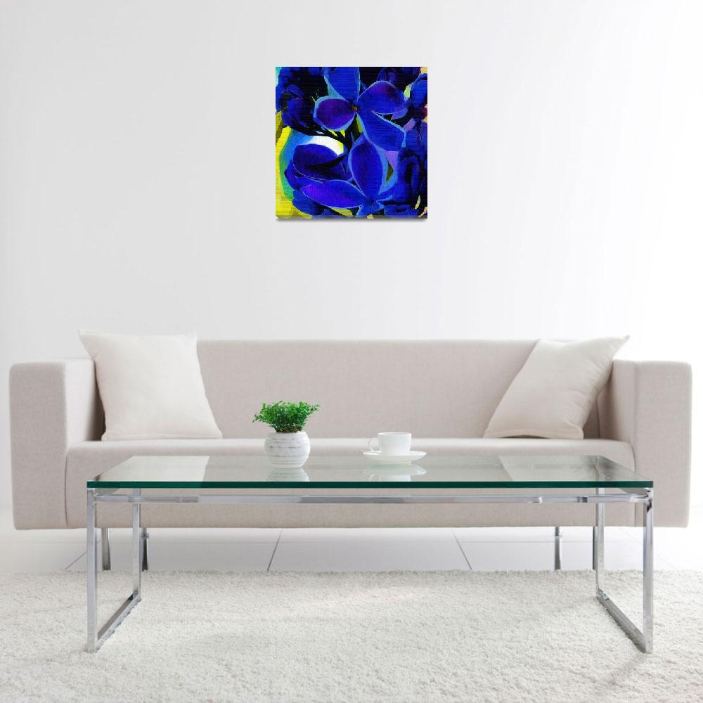 """""""Sensation Lilac Fauvist Art""""  by hotart"""