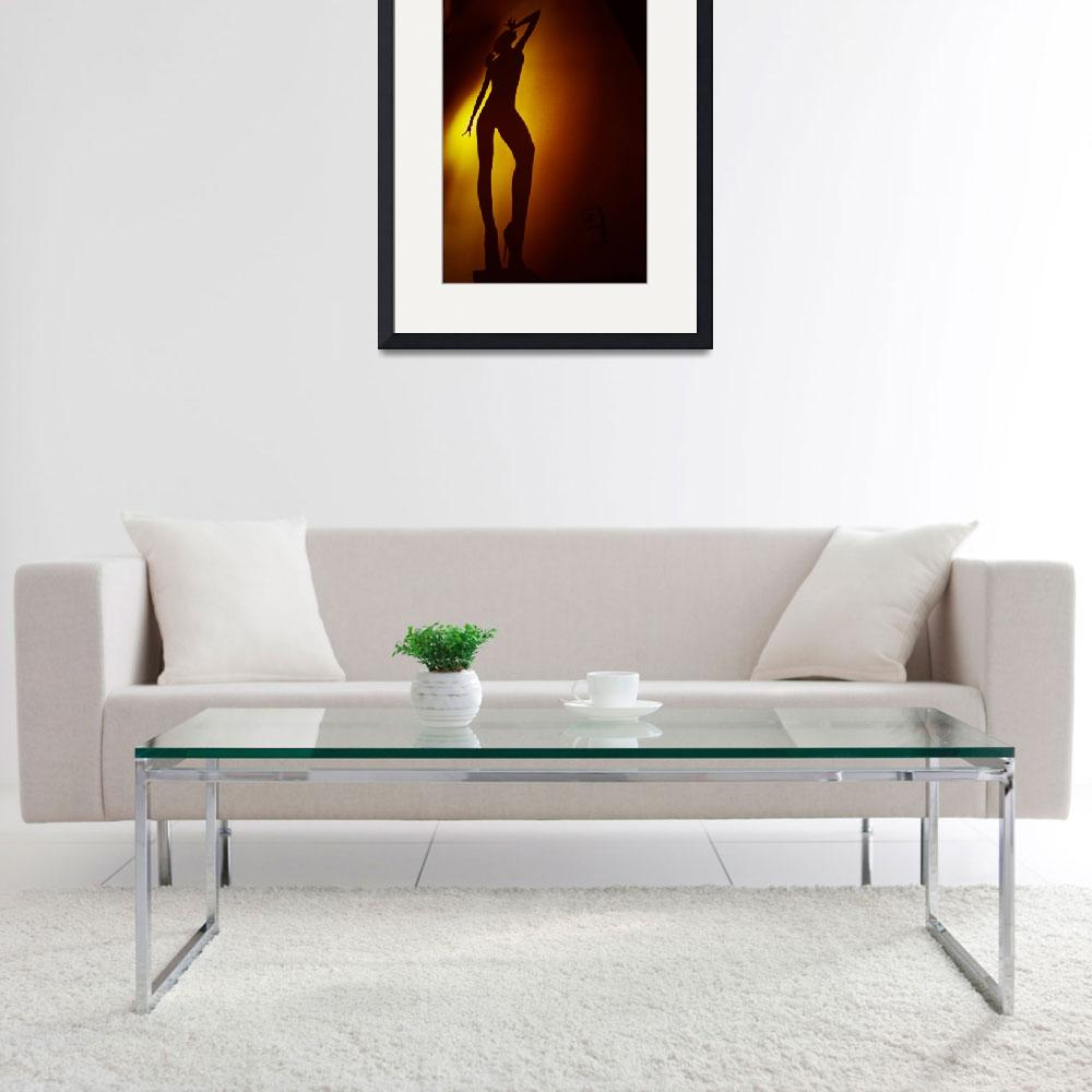 """""""Surrealist young lady nude ra4 darkroom print&quot  (2012) by edwardolive"""