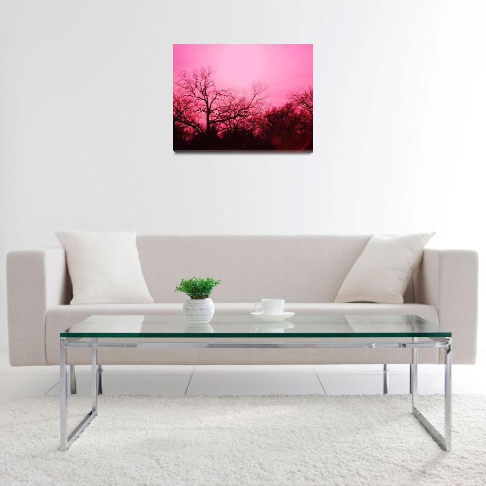"""Ponderously Pink2&quot  (2012) by DigitalCreations"
