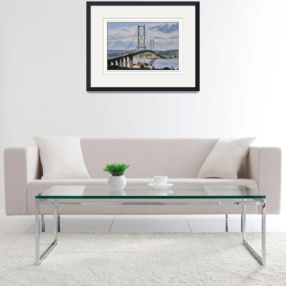 """""""Forth Road Bridge 2&quot  by imagesbycadac"""