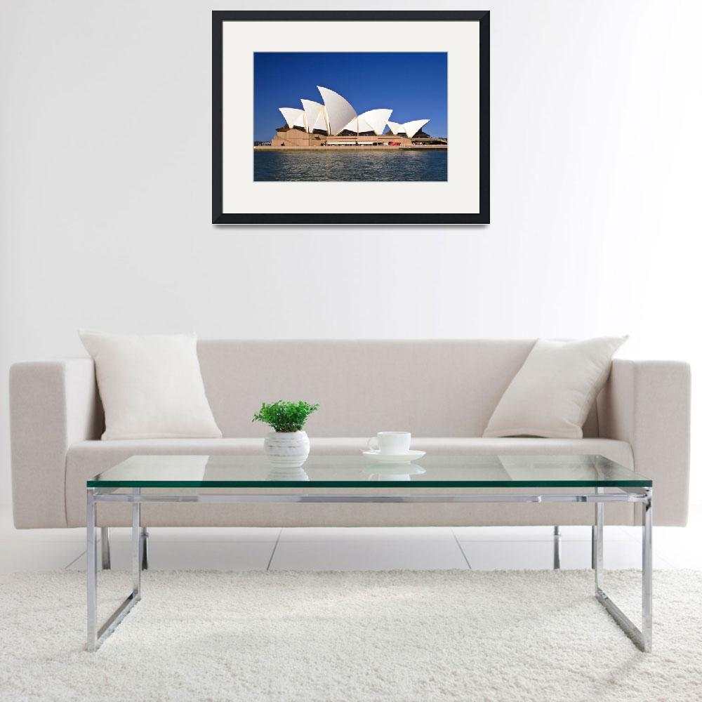 """Sydney Opera House&quot  (2008) by xylumtube"