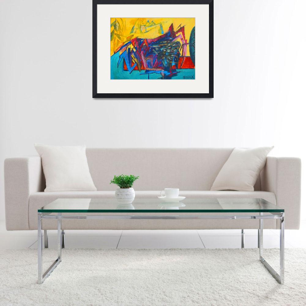 """""""Abstract Still Life&quot  by yessickart"""