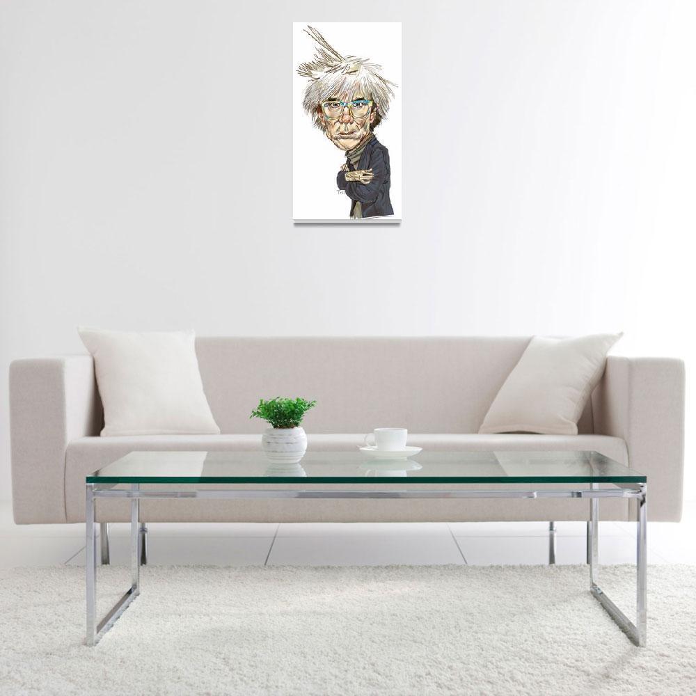 """Andy Warhol""  (2008) by tobias1969"