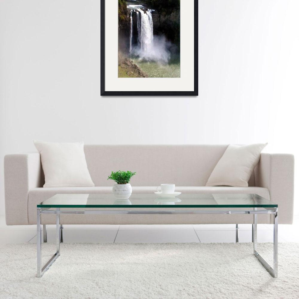 """Snoqualmie Falls&quot  by MaureenReilly"