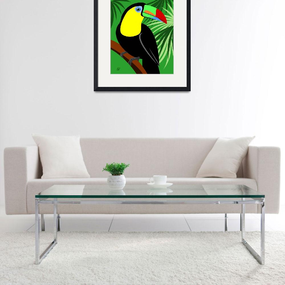 """""""Toucan&quot  (2011) by waterart"""
