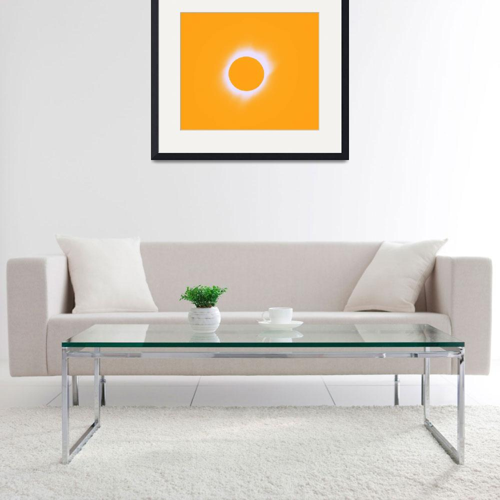 """""""Solar eclipse of 2017 Poster 7""""  by motionage"""