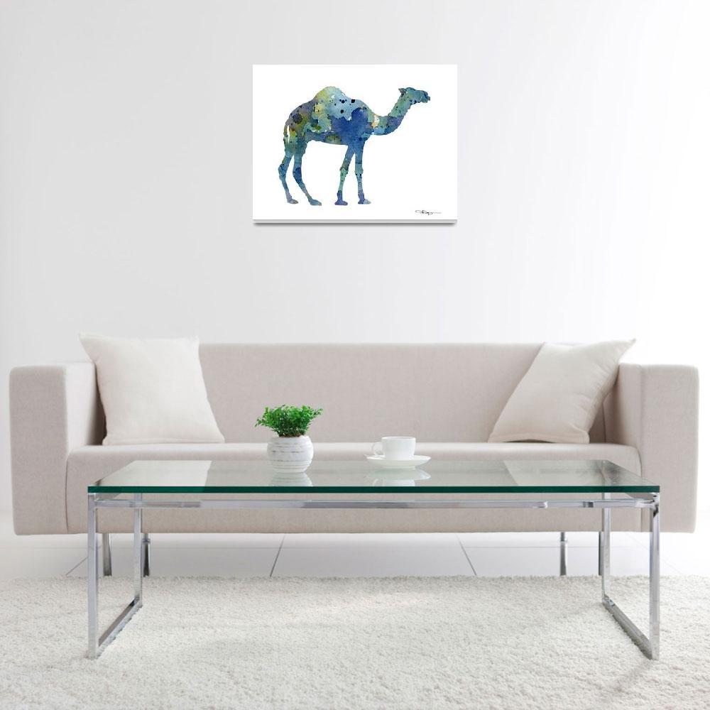 """Camel""  (2017) by k9artgallery"