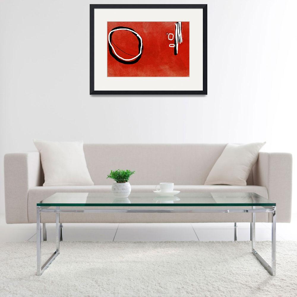 """""""Red Circle&quot  by ellsworth"""