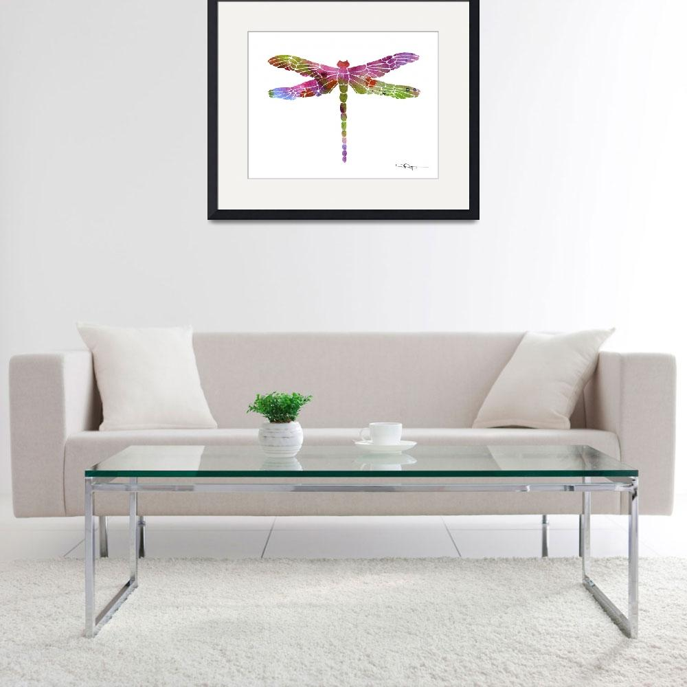 """""""Dragonfly&quot  (2015) by k9artgallery"""