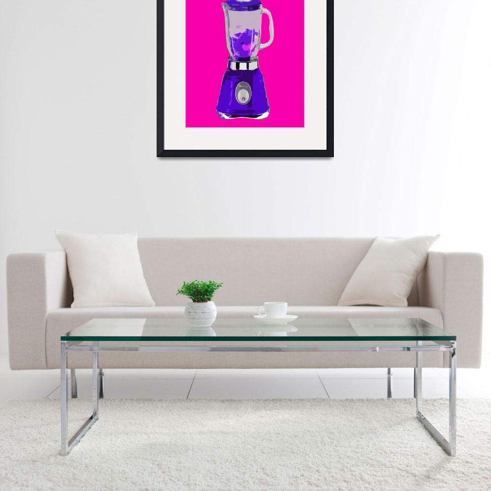 """Blender in Pink World&quot  (2010) by whitewallgallery"