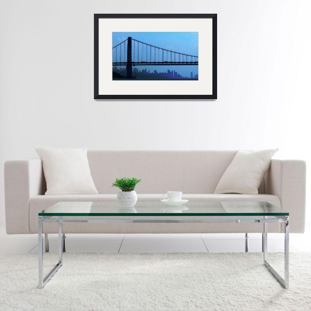 """George Washington Bridge, NYC""  (2011) by biriart"