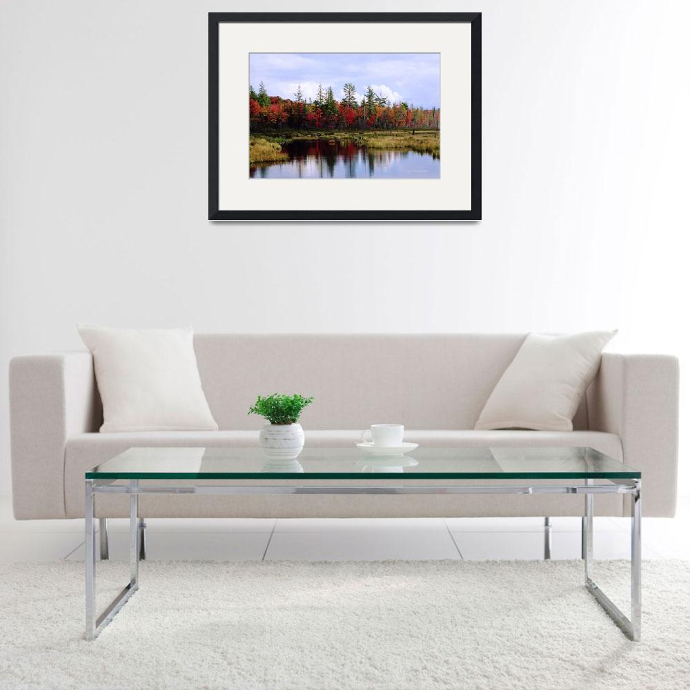 """Adirondack Fall&quot  by HodlinGallery"