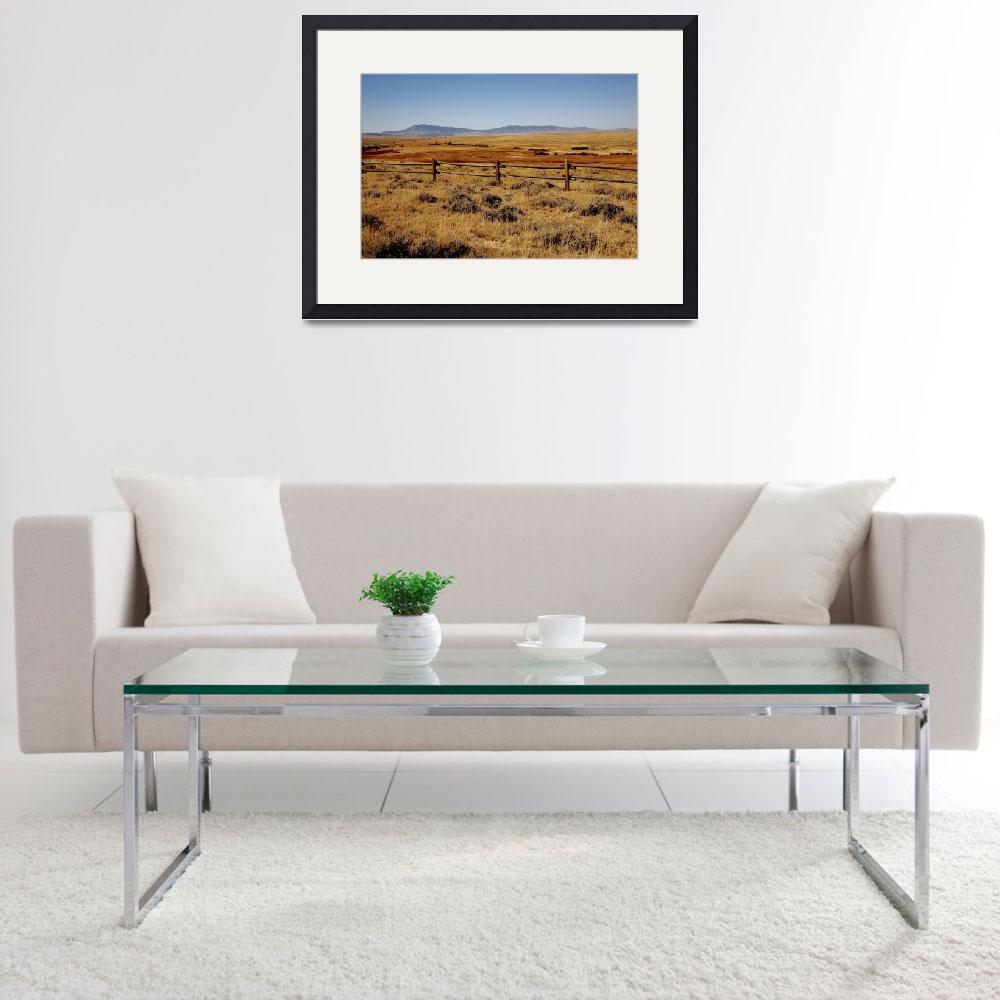 """""""Wyoming Landscape&quot  (2008) by Ffooter"""