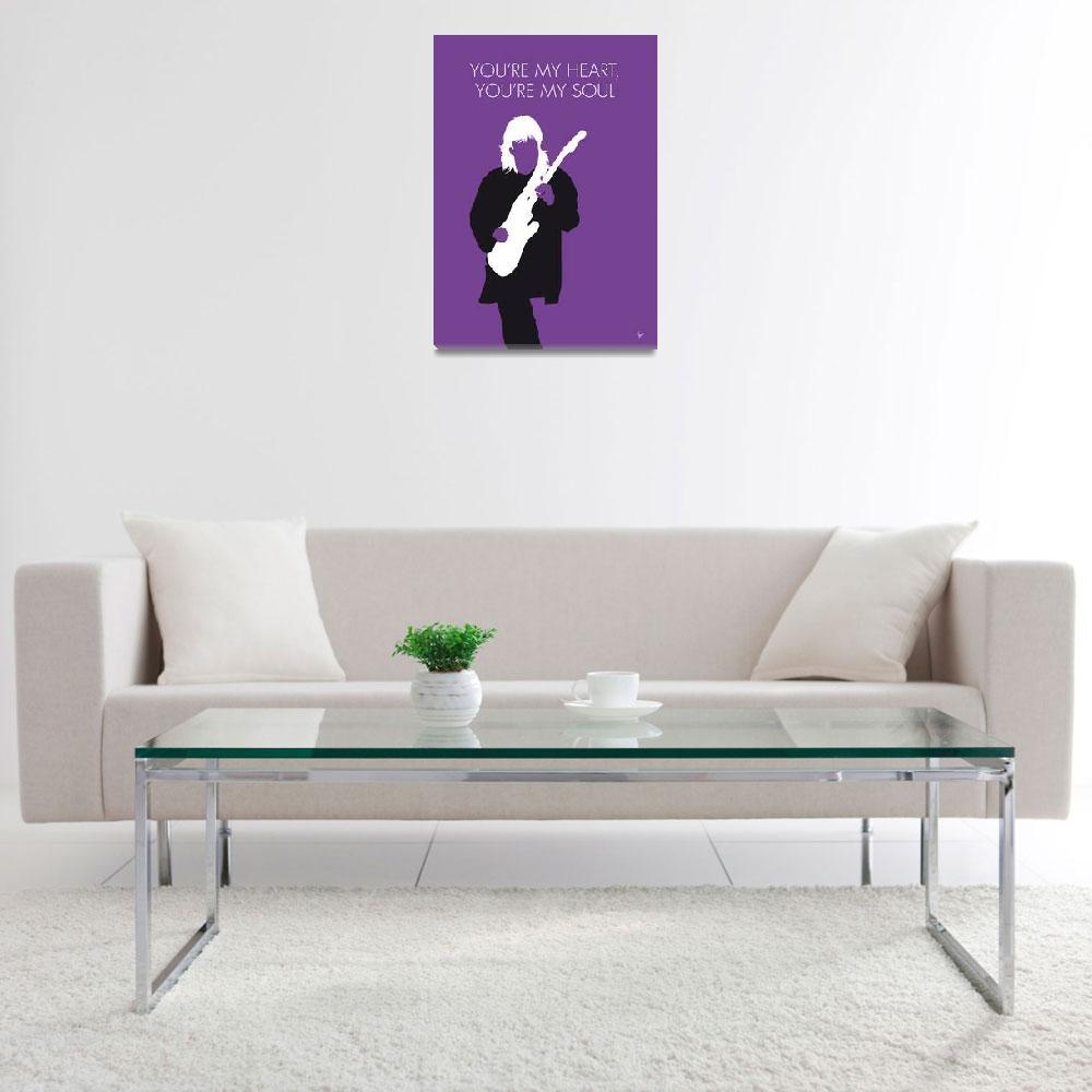 """""""No281 MY Modern Talking Minimal Music poster""""  by Chungkong"""