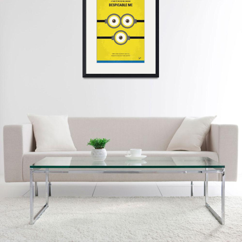 """""""No213 My Despicable me minimal movie poster&quot  by Chungkong"""