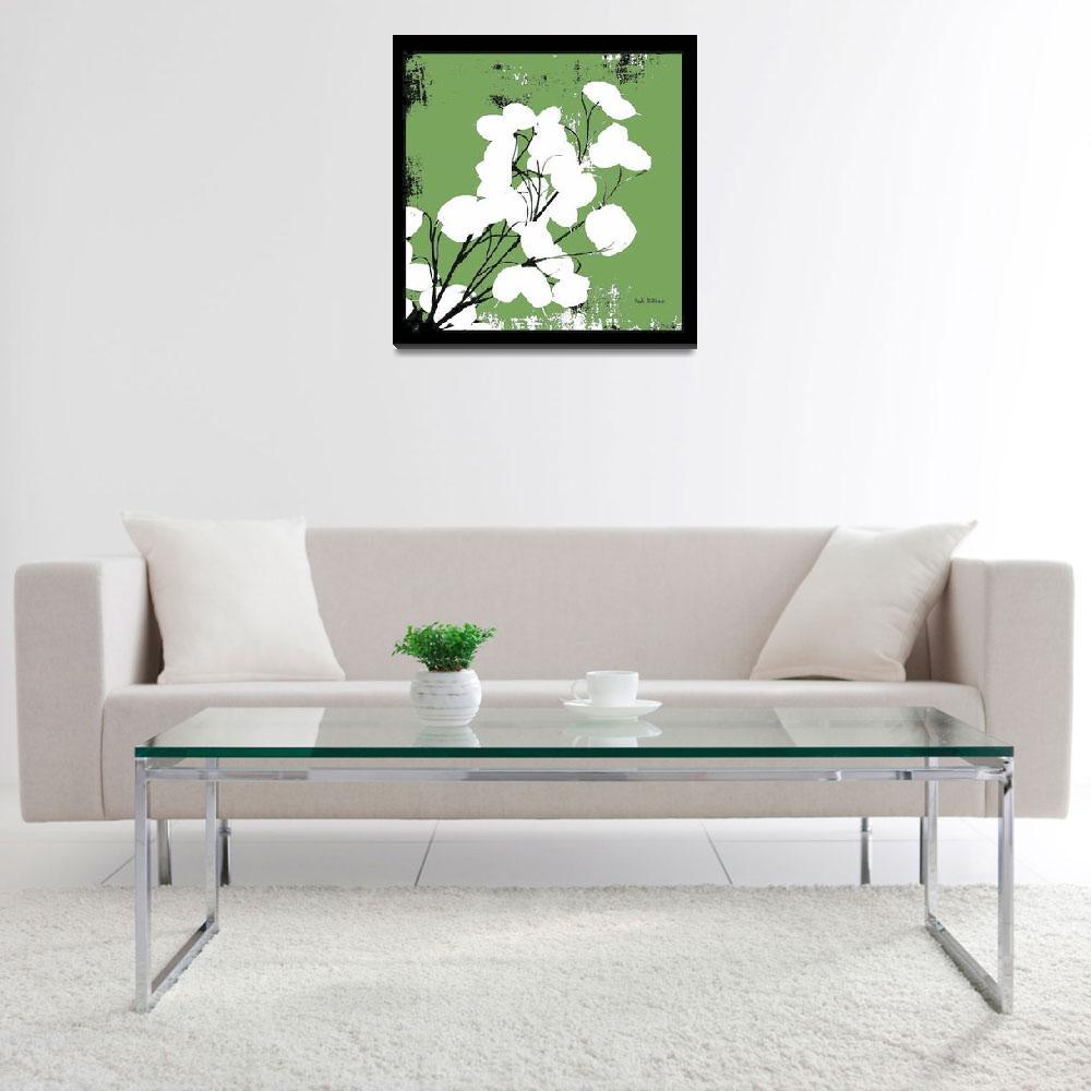 """Leaf Green Money Plant""  (2008) by HerbDickinson"