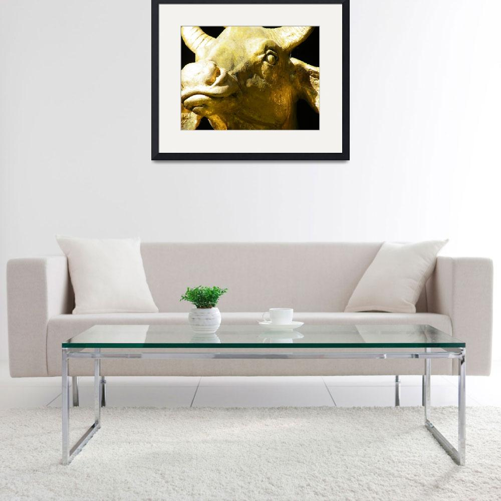 """Golden Cow&quot  (2010) by duncanrowe"
