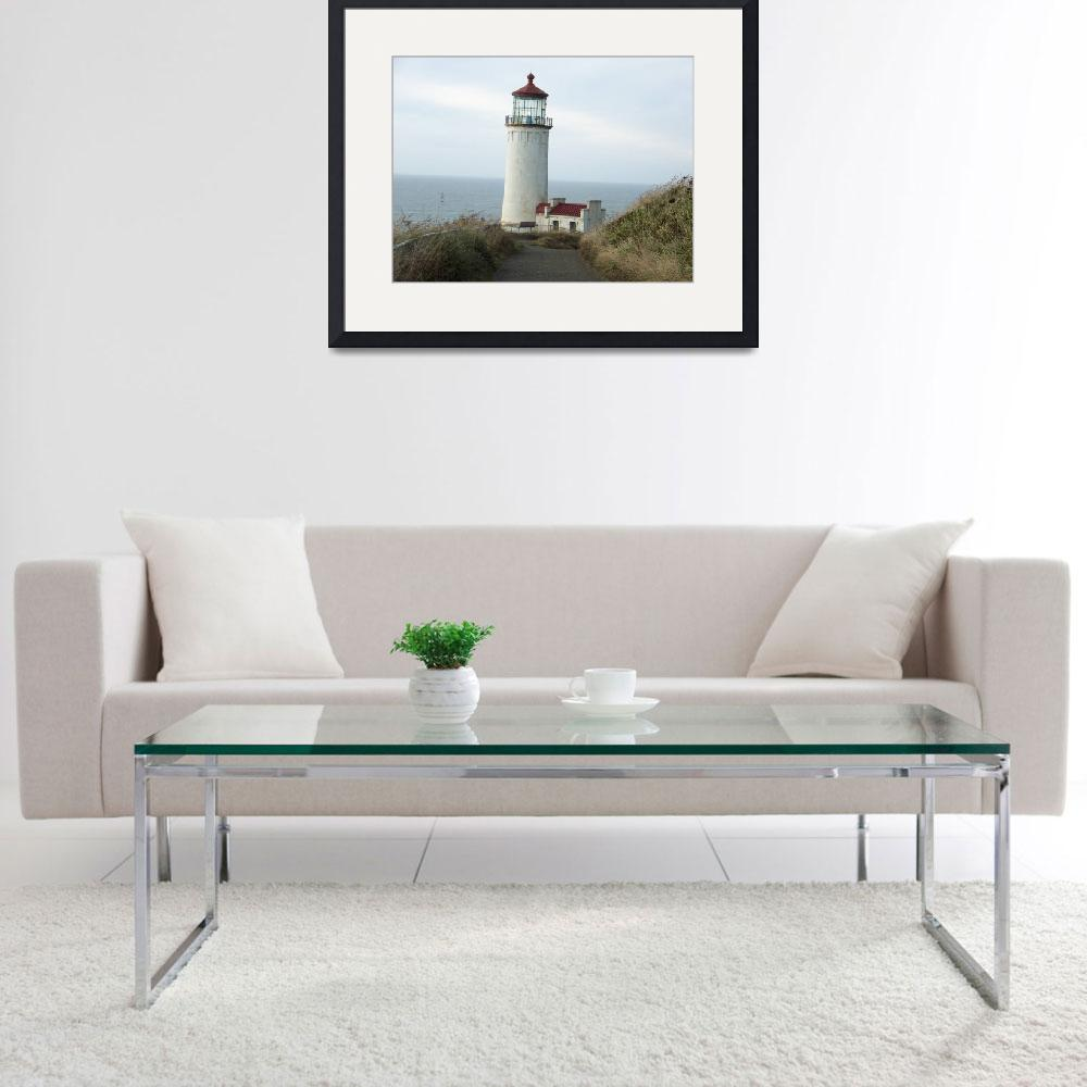 """""""Down the path to the Lighthouse&quot  (2011) by northheadnovelties"""