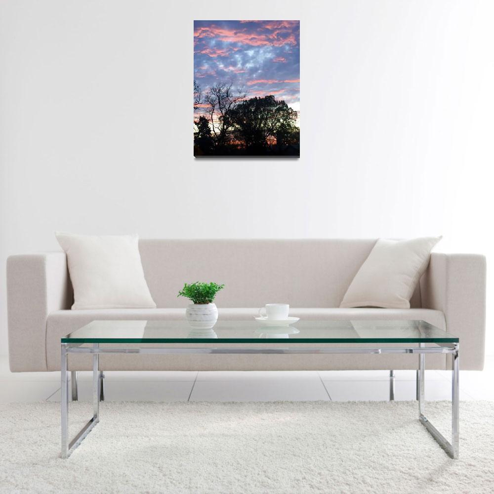 """Fire Sky Photograph By Rah - Featured Artist""  by StudioArtsGroup"