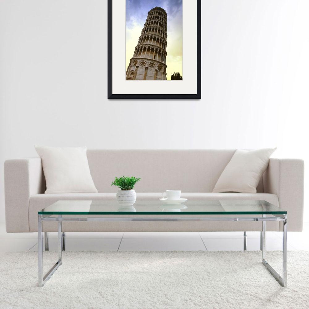"""""""The Leaning Tower Of Pisa Tuscany Italy&quot  by DesignPics"""