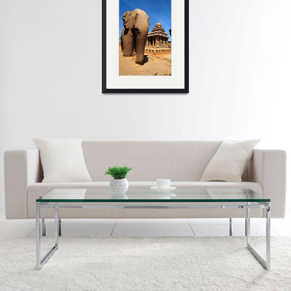 """""""Elephant Guard&quot  (2011) by JoaoPonces"""