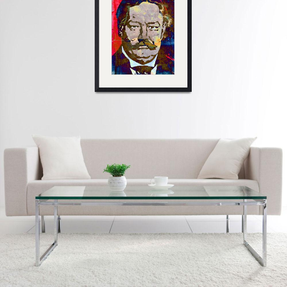 """William Howard Taft-27th President (Color) 2""  (2014) by thegriffinpassant"