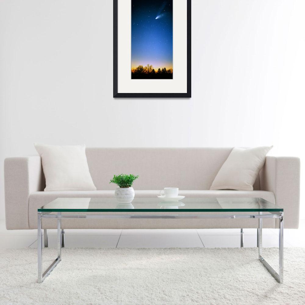 """Comet (Photo Illustration)&quot  by Panoramic_Images"